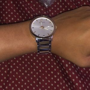 Selling watch with minor scratches.